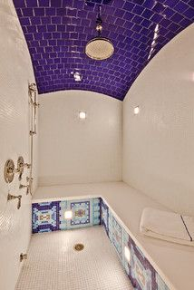 Steam Shower - traditional - bathroom - denver - by David Johnston Architects