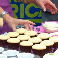 Sprinkles' Key Lime Cupcakes Recipe | Just A Pinch Recipes