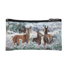Early Rising Deer Cosmetic Bag - photography gifts diy custom unique special
