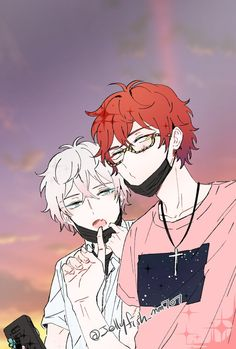 Find images and videos about anime boys, mystic messenger and MM on We Heart It - the app to get lost in what you love. Mystic Messenger Characters, Mystic Messenger Fanart, Seven Mystic Messenger, Messenger Games, Saeran Choi, Saeyoung Choi, L Death, Wattpad, Cute Drawings