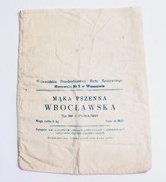 PRL Worek do mąki (5 kg) z 1964 roku ciekawostka