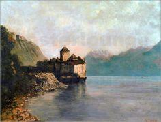 Gustave Courbet - Schloß Chillon