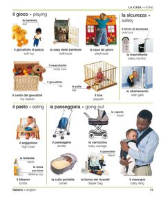 Learning Italian - Baby-Related Words