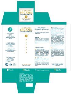 #Packaging Le Calle di Milano Gel Doccia