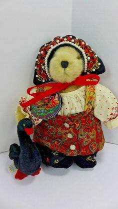 "*North American Bear Co. 7"" Muffy VanderBear Czarina Muffina & The Enchanted Swan"