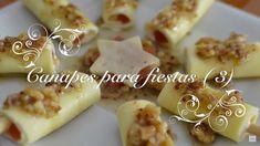 Canapes para fiestas 3 | Palitos de Queso y Membrillo | Canapes faciles ...