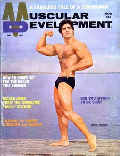 """vintagemales: """"Dennis Tinerino """" Muscle Magazine, Olympia Fitness, Joe Weider, Muscular Development, Bigger Arms, Mr Olympia, Competition, Bodybuilding"""