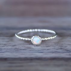 Mermaid Opal Ring