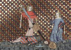 Bodleian Library MS. Bodl. 264, The Romance of Alexander in French verse, 1338-44; 168v
