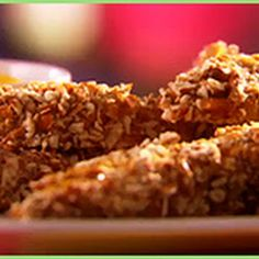 Honey Mustard Pretzel Coated Chicken Fingers