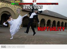 Gamer wedding photo. NUPTUALITY! I love this, probably more than I should.