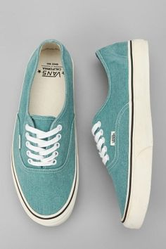 Vans California Washed Canvas Authentic Sneaker by DaisyCombridge
