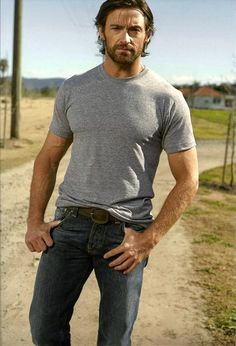 Hugh Jackman - I could totally pull this look