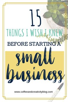 15 Things I Wish I Knew Before Starting a Small Business – Coffee and Creativity Jennifer shows you exactly what she learned from being in a product based business for 5 years. She provides practical and real advice that is applicable to any entrepreneur. Affiliate Marketing, Online Marketing, Content Marketing, Digital Marketing, Business Marketing, Business Tips, Online Business, Business Meme, Business Quotes