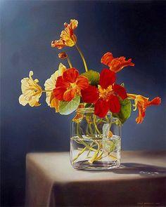 Tjalf Sparnaay (Dutch painter) #floral #botanical #art