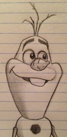 Disney Drawings Sketches, Easy Disney Drawings, Disney Character Drawings, Easy Cartoon Drawings, Girl Drawing Sketches, Cute Easy Drawings, Art Drawings Sketches Simple, Drawing Art, Disney Characters