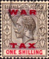 Bahamas 1919 War Tax Overprint SG 104 Fine Used Scott MR13 Other Bahamas Stamps HERE