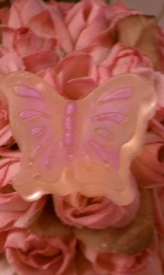 Mini butterfly soap - perfect favor for a springtime party!