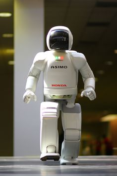 These robots were only experimental, but later evolved into the Honda P series, with Honda eventually amassing the knowledge and experience necessary to create Honda's advanced humanoid robot: ASIMO. Description from quazoo.com. I searched for this on bing.com/images