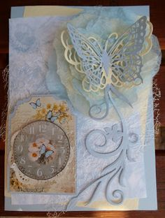 If you need any help with your Card Making please post a comment, and I will get back to you as soon as I can. Butterfly Flowers, Butterflies, Vintage Style, Vintage Fashion, Mothers Day Cards, Vintage Cards, Handmade Cards, Your Cards, Clever