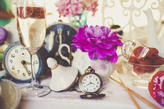 IF you were to have dining tables you could use clocks for the table numbers...