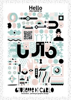 Hello my name is on Behance