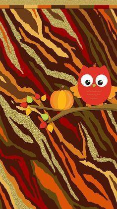 Owl Wallpaper, Hello Kitty Wallpaper, Glitter Wallpaper, Wallpaper Backgrounds, Thanksgiving Wallpaper, Holiday Wallpaper, Owl Clip Art, Owl Art, Lularoe Background