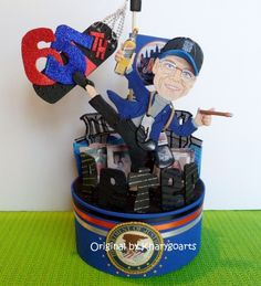 RETIREMENT CUSTOMIZED BIRTHDAY CAKE TOPPER CREATED TO LOOK LIKE YOU