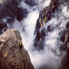 Photo // climbing above Low's Gully on Mount Kinabalu, Borneo. This, almost deep gorge, is located on the north side of Mount Kinabalu where, in an ill fated. Jimmy Chin, Mount Kinabalu, Beautiful Nature Scenes, Earth Photos, Mountain Landscape, Borneo, Best Photographers, National Geographic, The Great Outdoors