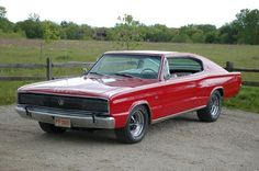 1966 Dodge Charger in Red