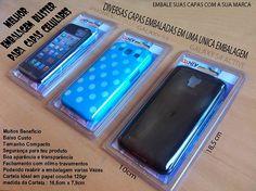 Embalagem de blister para capa de celular