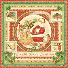 Pre-Order > Paper > Graphic 45 > Twas The Night Before Christmas Paper - Graphic 45 - PRE ORDER: A Cherry On Top