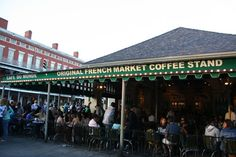 Good tutorial on order café au lait and beignet at Café Du Monde.  (Sit.  Order.  Pay.  Don't wear black and don't inhale during bite.)