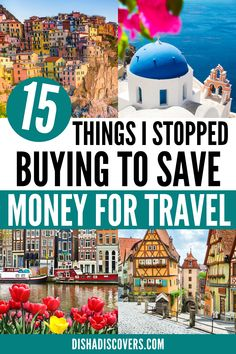 15 Unnecessary Expenses to Cut so You Can Afford to Travel - Do you want to travel more, but money is stopping you? Here are 15 unnecessary expenses you are wasting your money on that you can save for travel. #traveltips #savemoneyfortravel #traveltipsandtricks #travelhacks #travelbudget #travelbudgettips #travelbudgetsavingmoney #traveltipsmoney Travel Deals, Budget Travel, Travel Guides, Travel Destinations, Solo Travel, Time Travel, Travel Around The World, Around The Worlds, Travel Advice