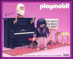 Amazon.com: Playmobil Victorian Pianist and Working Piano: Toys & Games