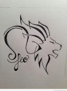 Zodiac Tattoo Symbols Leo