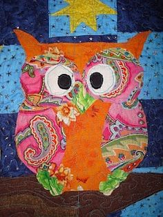 Owl Quilt-LOVE!!!!!!!!!!!!! for-the-home