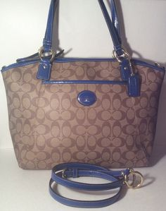 Coach Peyton Signature Pocket Tote F19816. Starting at $25