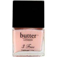 BUTTER LONDON 3 Free Nail Lacquer, Pink Ribbon 0.4 fl oz (11ml) $14