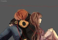 These thin threads of hope will keep me bound to you... I will never leave you... (Mystic Messenger, 707 x MC)