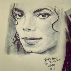 Michael Jackson Tribute - Sketching by Tridib Das in My Sketches at touchtalent 78290 at touchtalent 78290