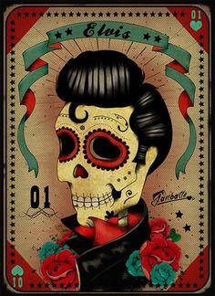 Dia de los Muertos the King!