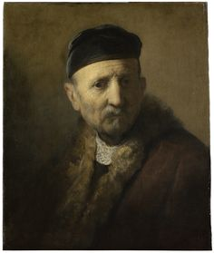 Rembrandt van Rijn (and/or studio), 'Tronie' of an Old Man, c.  1630 - 1631. Mauritiushuis