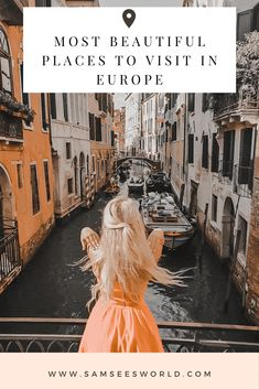 Wondering what the most beautiful cities in Europe are? Check out this post for a list of the top 20 most beautiful cities in Europe. European Road Trip, Road Trip Europe, European Vacation, European Destination, European Travel, Top Europe Destinations, Cities In Europe, Europe Travel Guide, Travel Guides