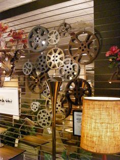 Vintage Film Reels! Add personality to your movie room or home theater! Now at Retro