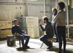 K--Chris O'Donnell as Special Agent G. Callen, Peter Cambor as Operational Psychologist Nate Getz, and Judith Shekoni as Alisa Chambers