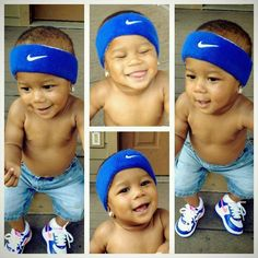 Omg check out this lil mans swagg tho... He is just tooo adorableee, awwee
