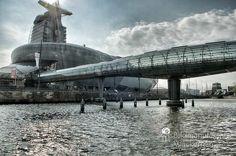 nice Fotografie »Klimahaus @ Bremerhaven 08«,  #Bremerhaven #Stadtansichten