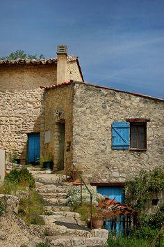 L'escalier-Trigance (Var), Provence, via Flickr