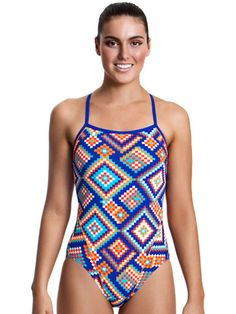 Funkita River Weaving Womens One Piece Swimsuit